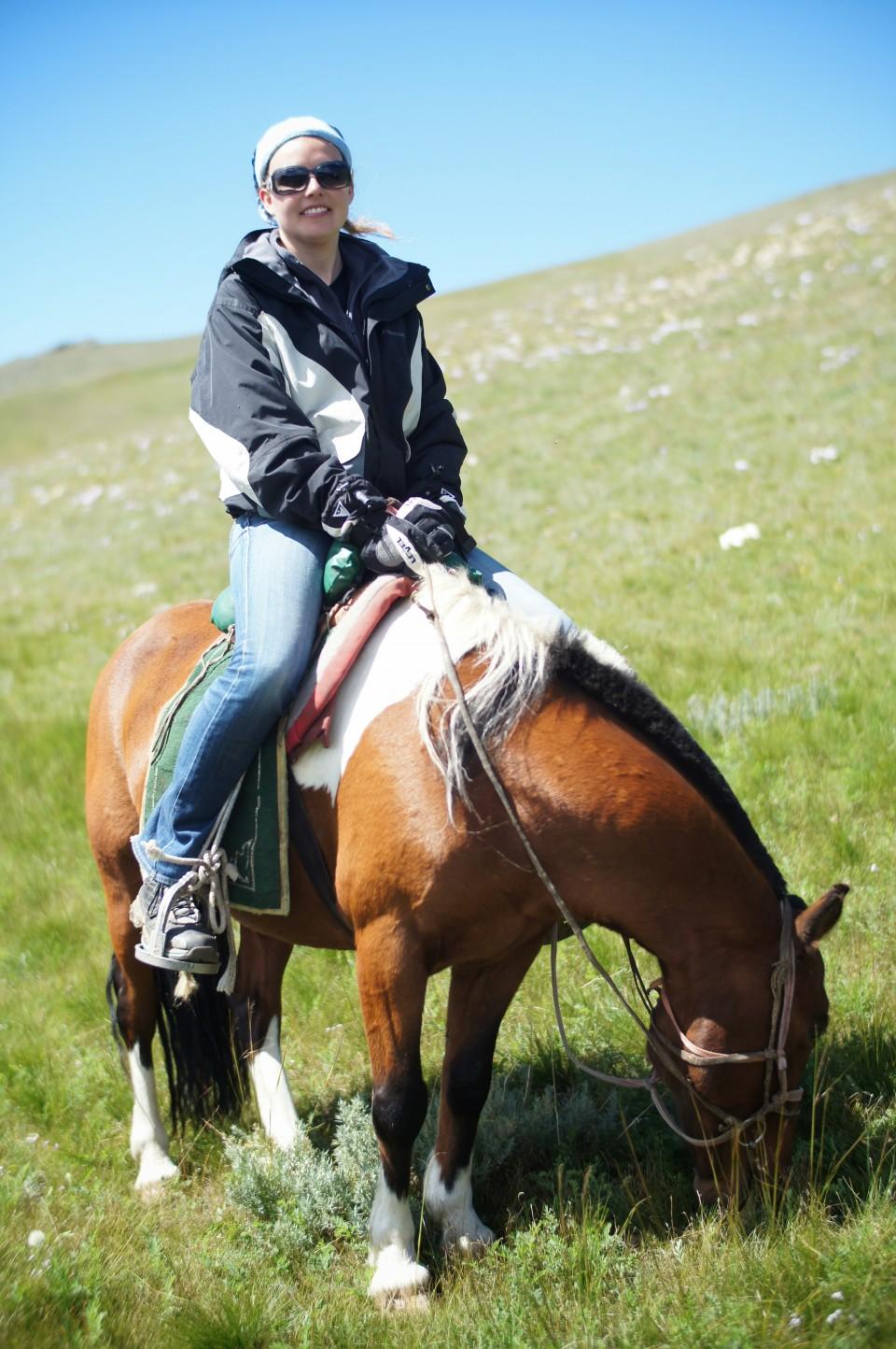 Horse riding, Mongolia