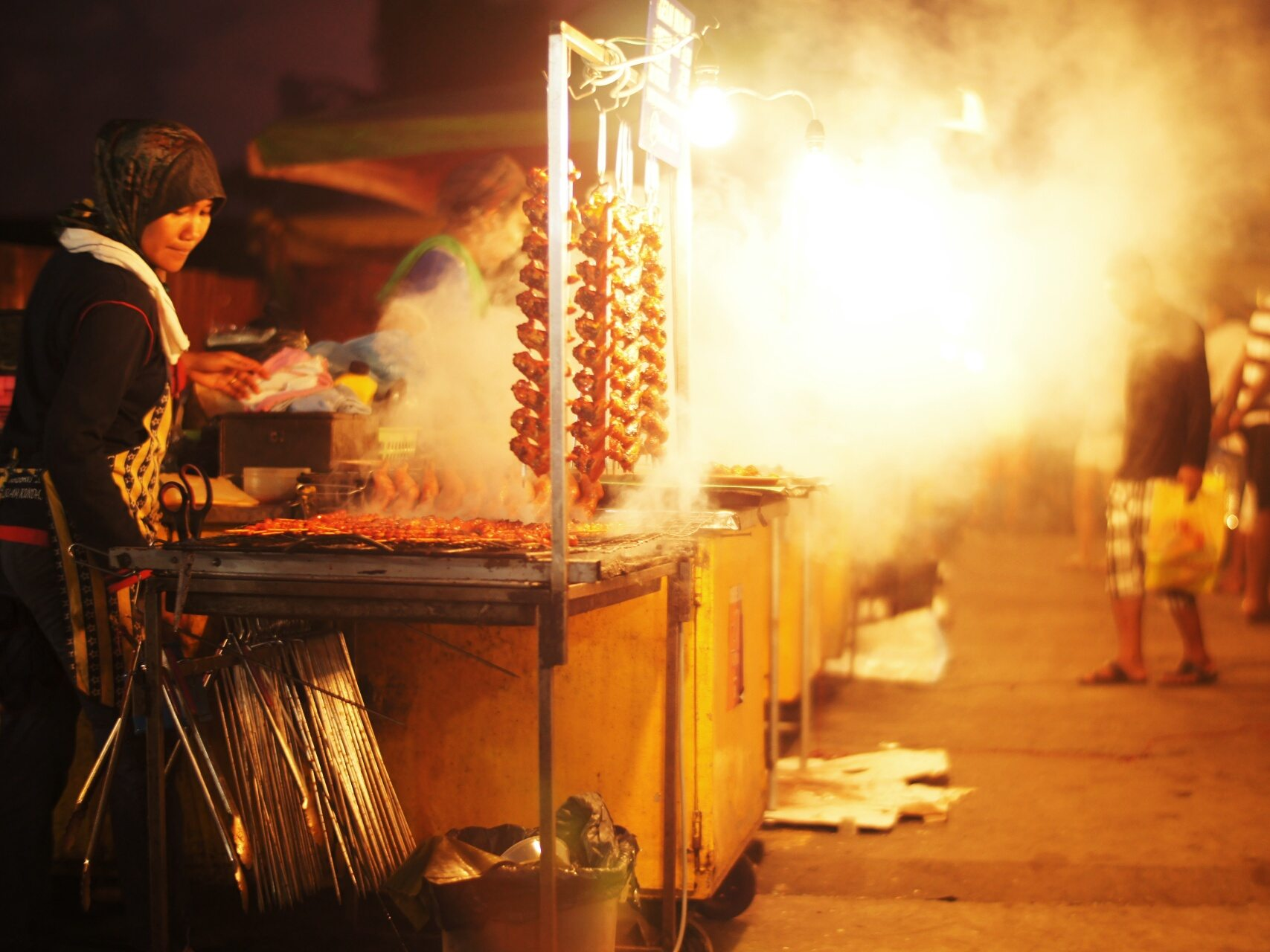 Hawker Street Stall, KL, Malaysia