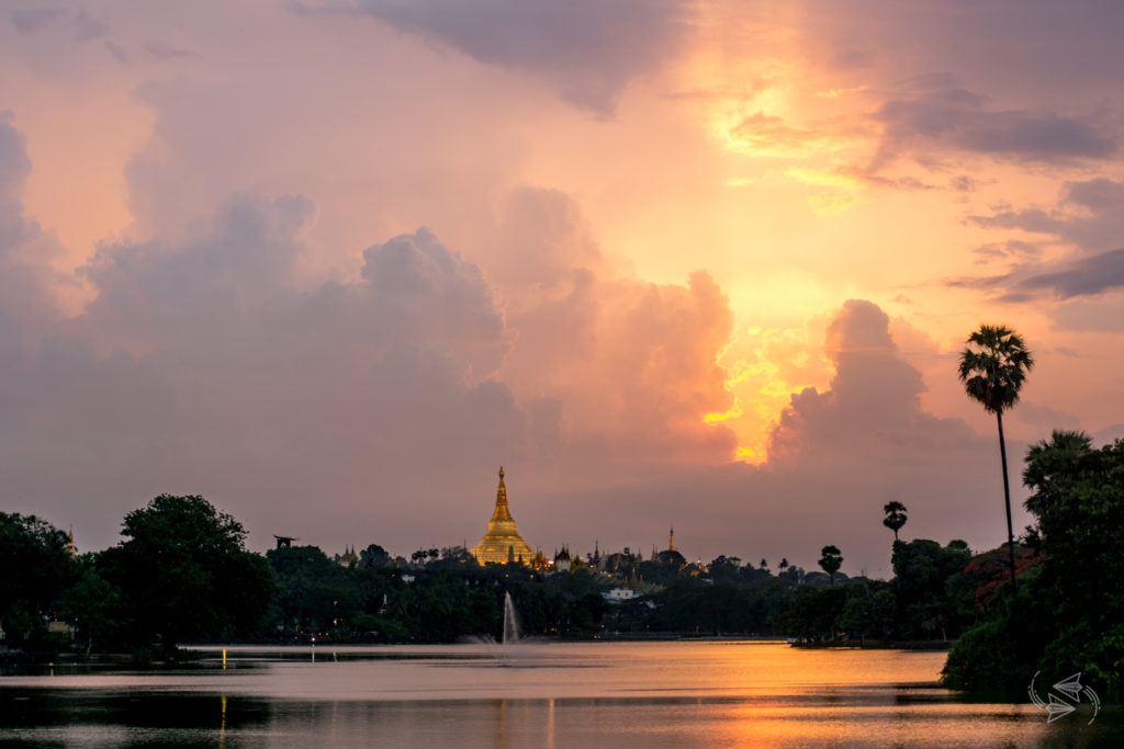 Kandawgyi Lake Yangon Myanmar