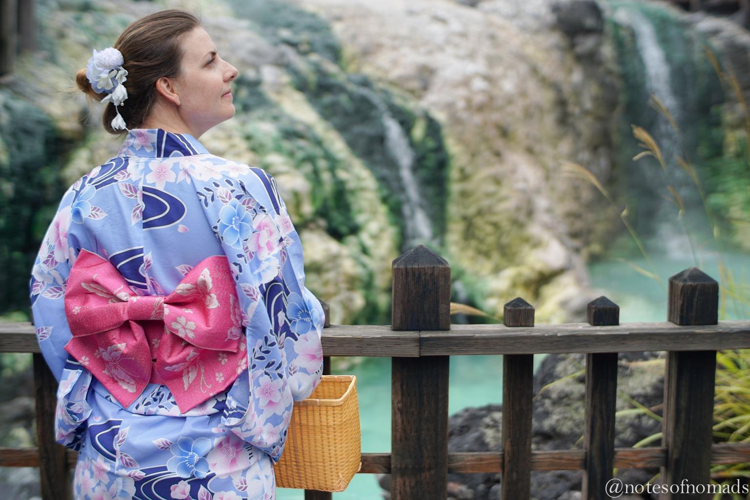 kusatsu onsen japan