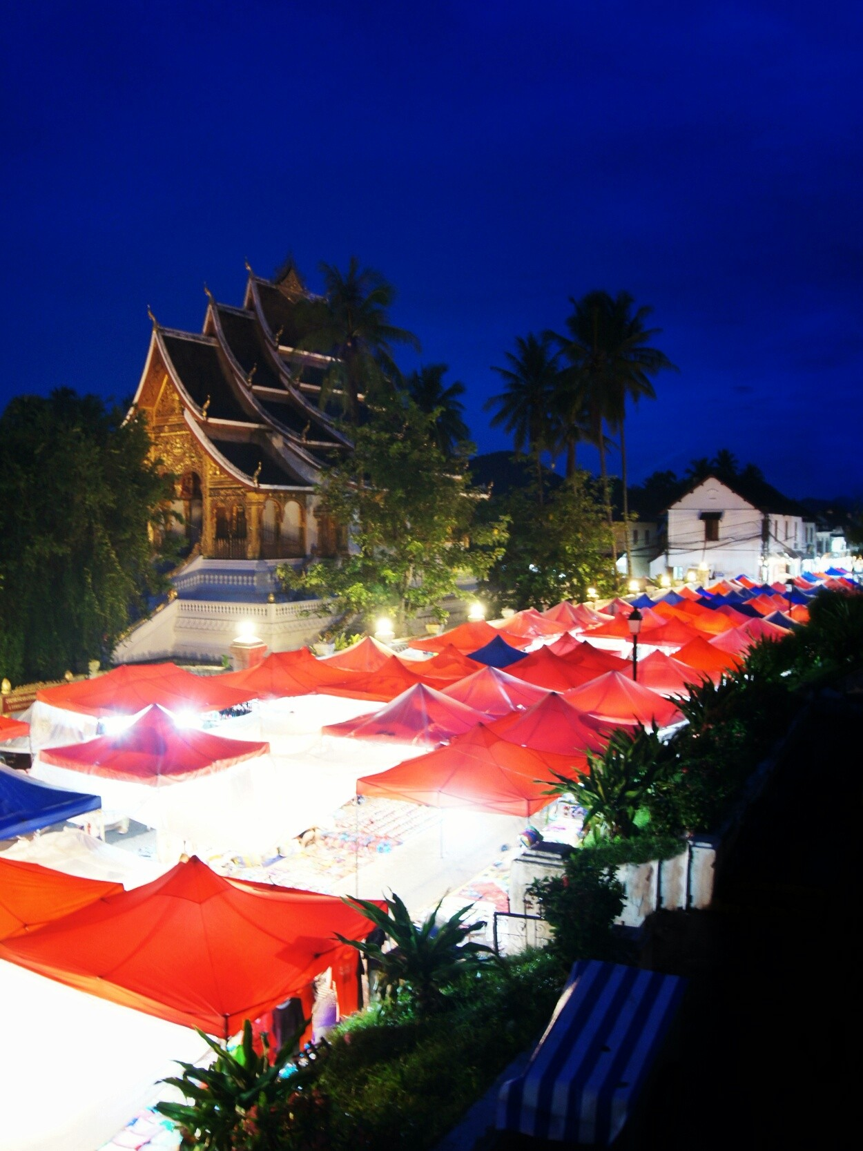Night markets, Luang Prabang, Laos