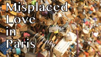 Love lock bridge, Paris