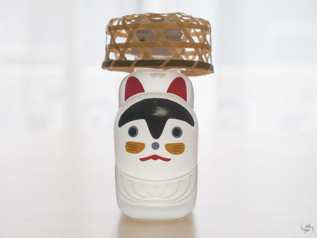 Lucky dog sake Suitengu Shrine Tokyo