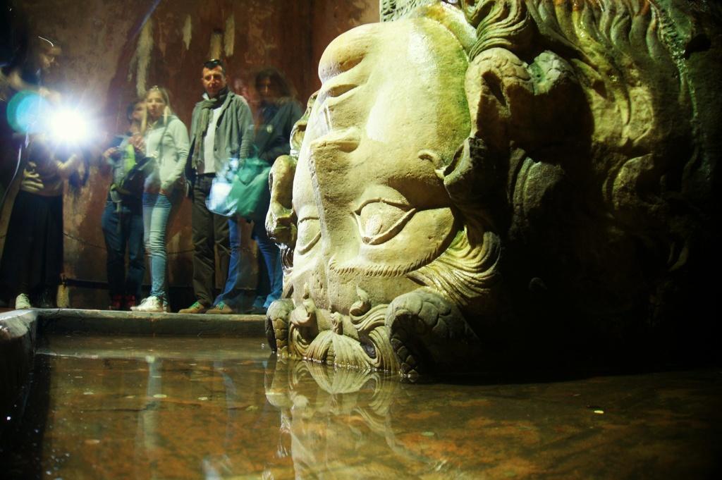 Medusa, Basilica Cistern, Istanbul, Turkey