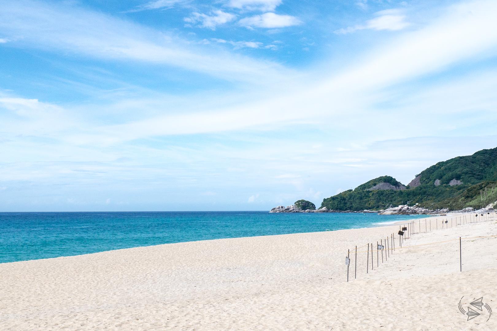 Nagatahama beach Inakahama beach Yakushima Kagoshima Japan