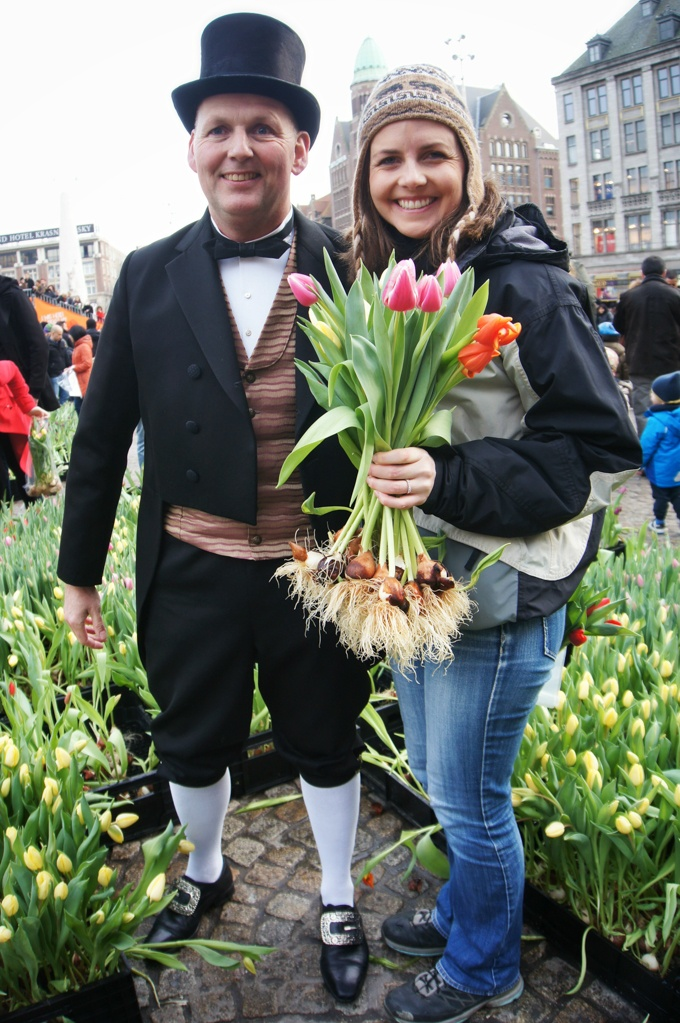 National Tulip Day, Amsterdam, The Netherlands