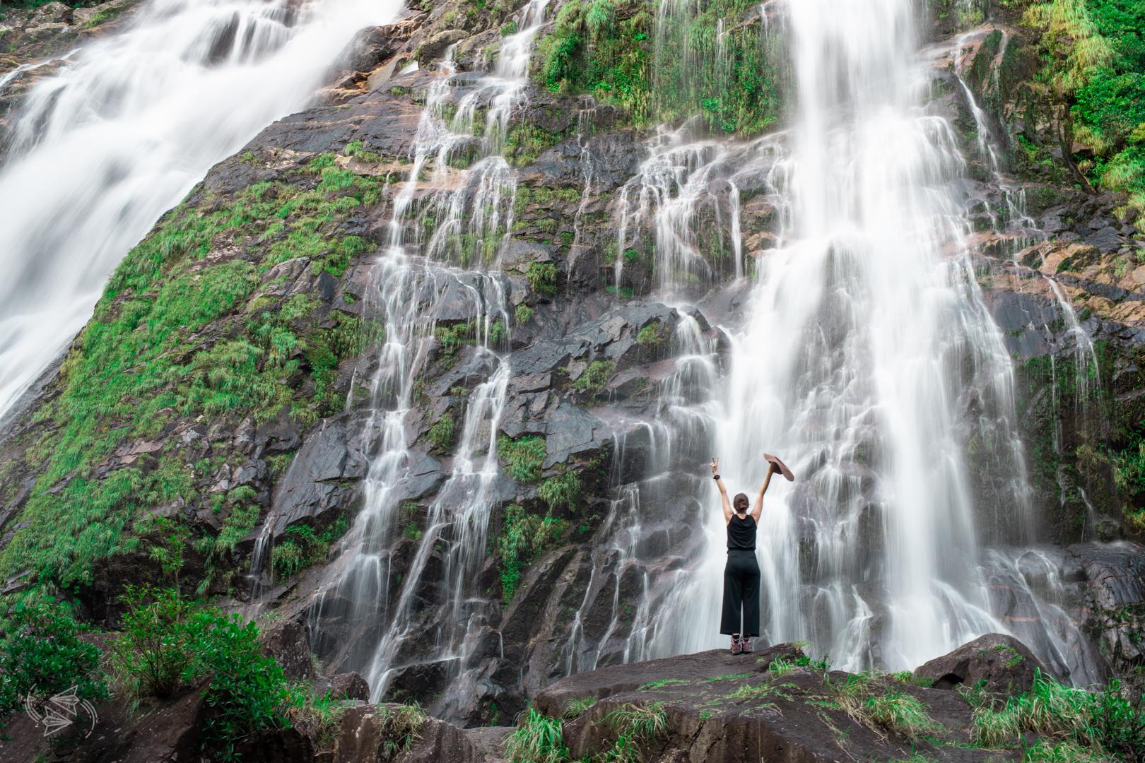 Okonotaki Falls Yakushima Kagoshima Japan