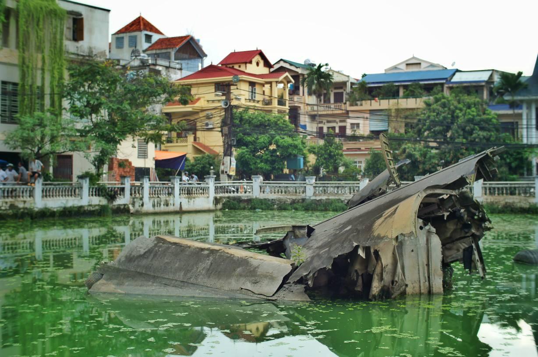 Downed B52, Hanoi, Vietnam