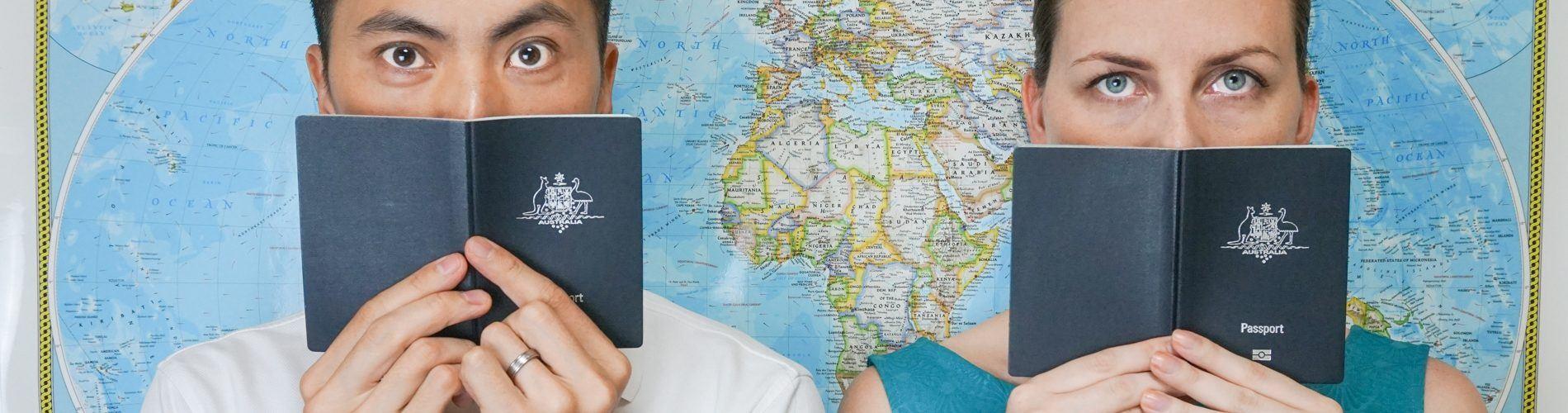 Passport slider