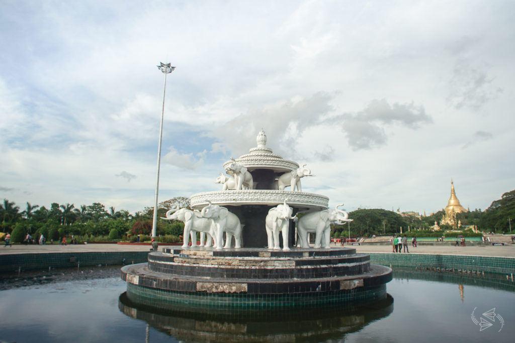 People's Park & People's Square Yangon Myanmar