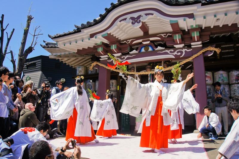 Shinto ritual, Kanamara Matsuri, Kanagawa, Japan
