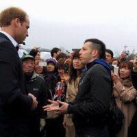 Prince William in Tohoku Japan