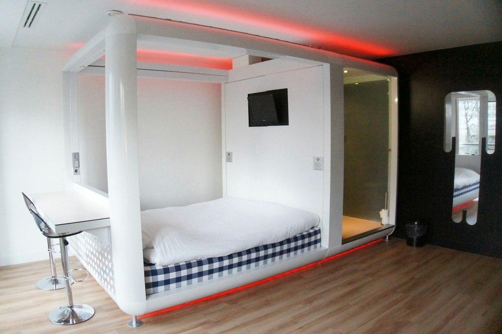 Hotel review qbic amsterdam for Hotel amsterdam cube
