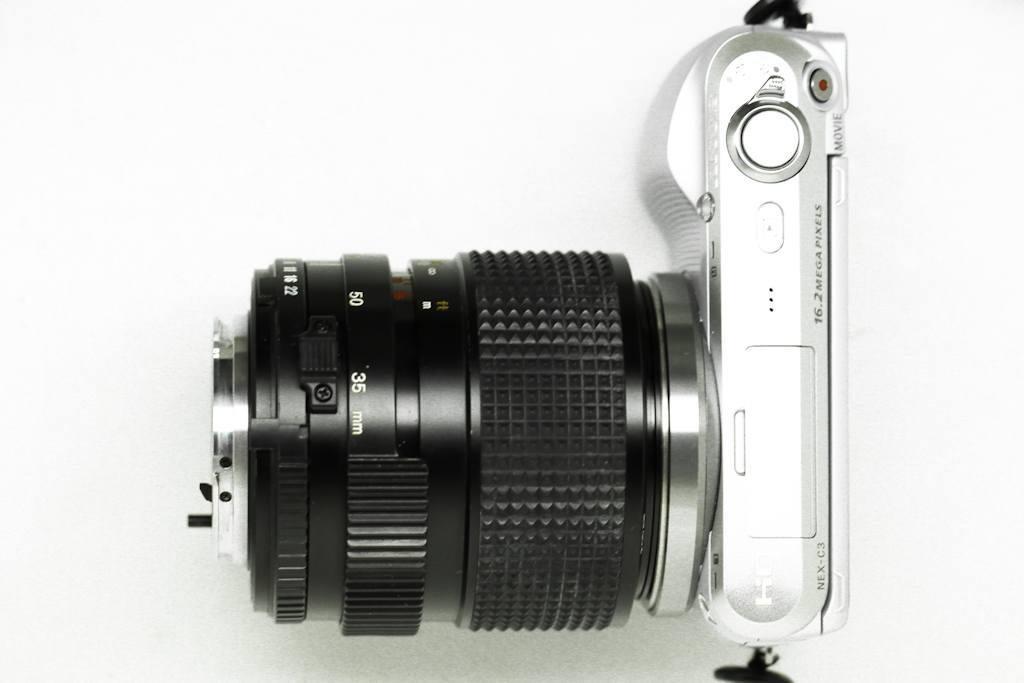 Reverse Macro Lens, technique, photography, Sony NEX-C3