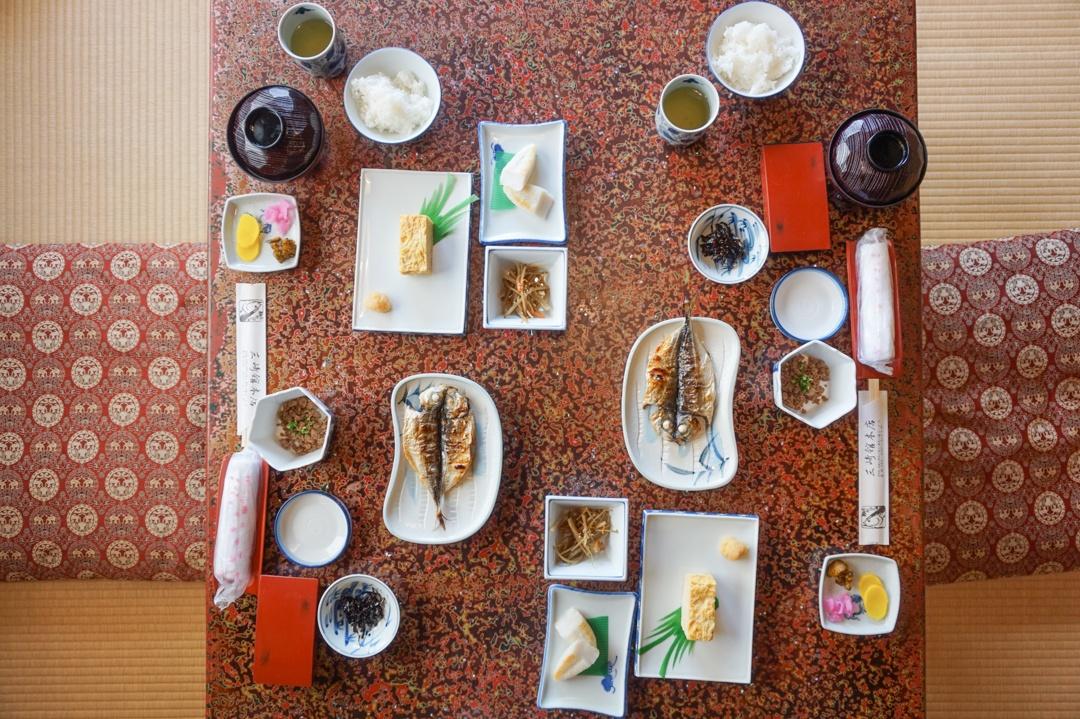 Ryokan Japan Food Breakfast