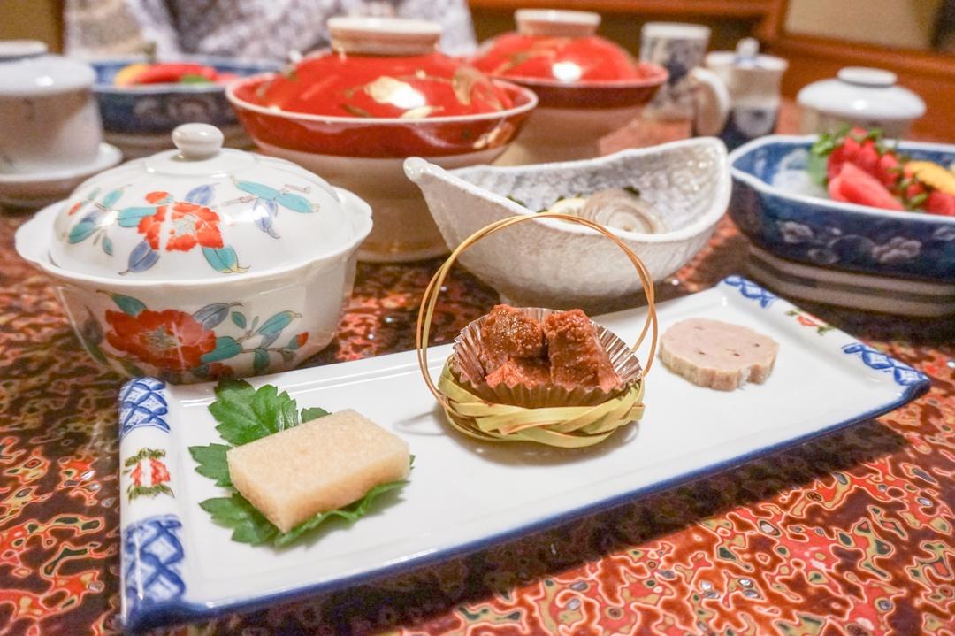 Ryokan Japan Food Dinner