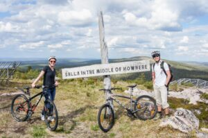 Fell mountain biking, Salla In the Middle of Nowhere