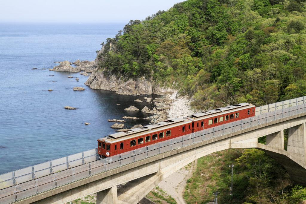sanriku railway, iwate japan, iwate travel