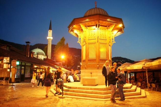 Sebilj Fountain, Bašcaršija Old Town, Sarajevo