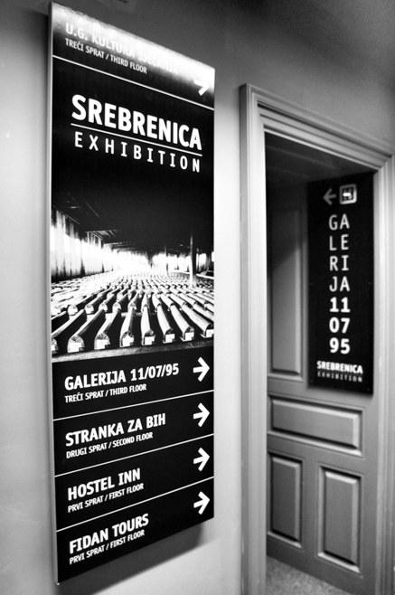 Srebrenica Gallery 11/07/95, Sarajevo