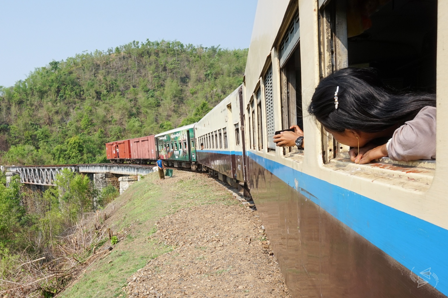 Slow Train from Thazi scenery