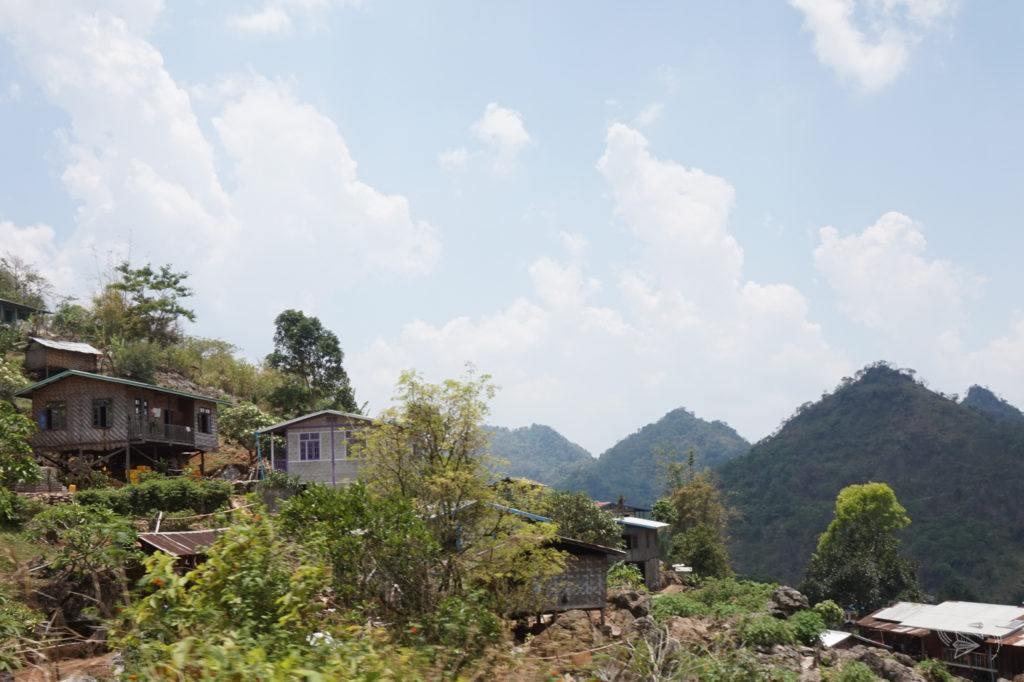 Slow Train from Thazi scenery, Thazi to Shwenyaung, Inle Lake