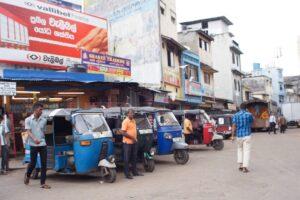 Tuk tuks, Colombo, Sri Lanka