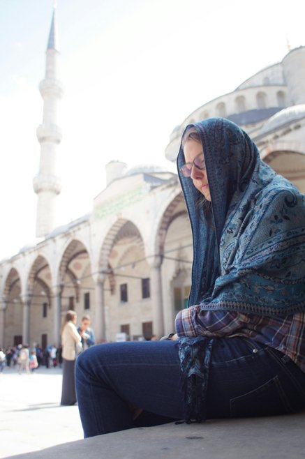 Things to do in Istanbul - Dress for a mosque