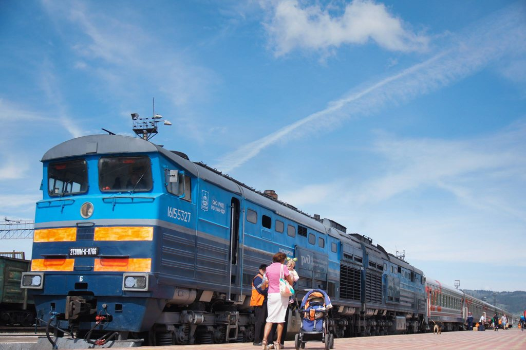 Trans-Mongolian Railway Mongolia to Russia