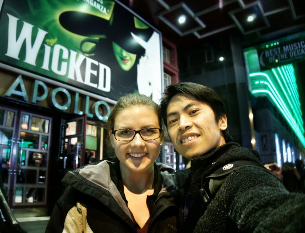 Wicked, Apollo Victoria Theatre, London