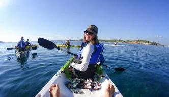 Cannibals Kayak House sea kayaking