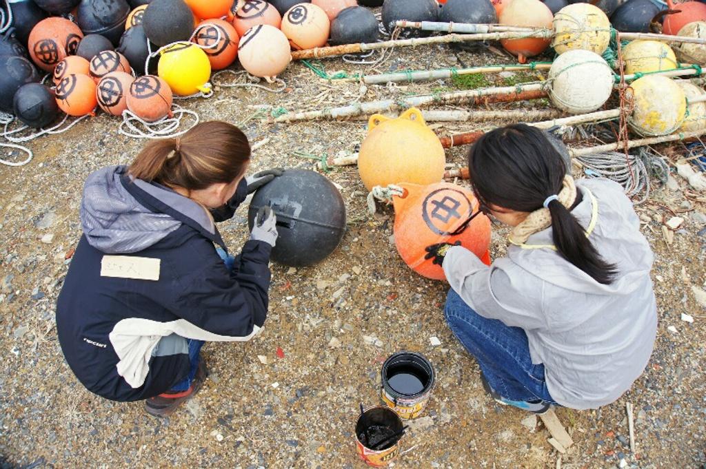 Volunteering Tohoku Japan