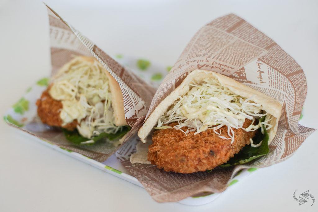 Wasabi burger