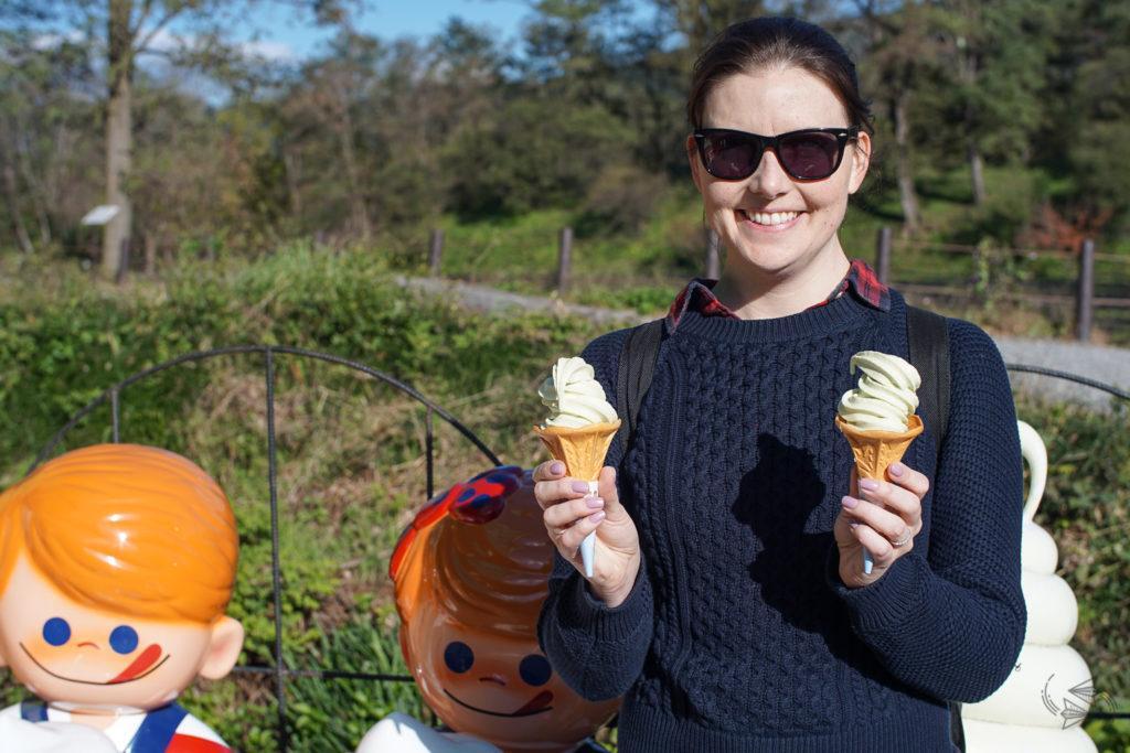 Wasabi ice cream