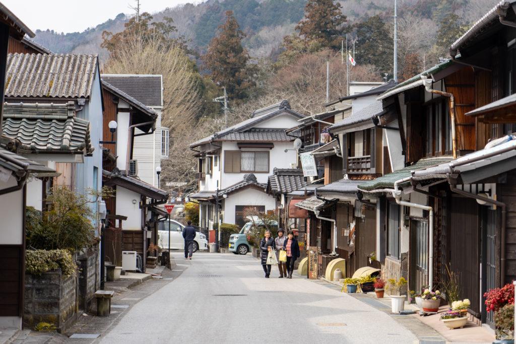 asuke townscape toyota japan