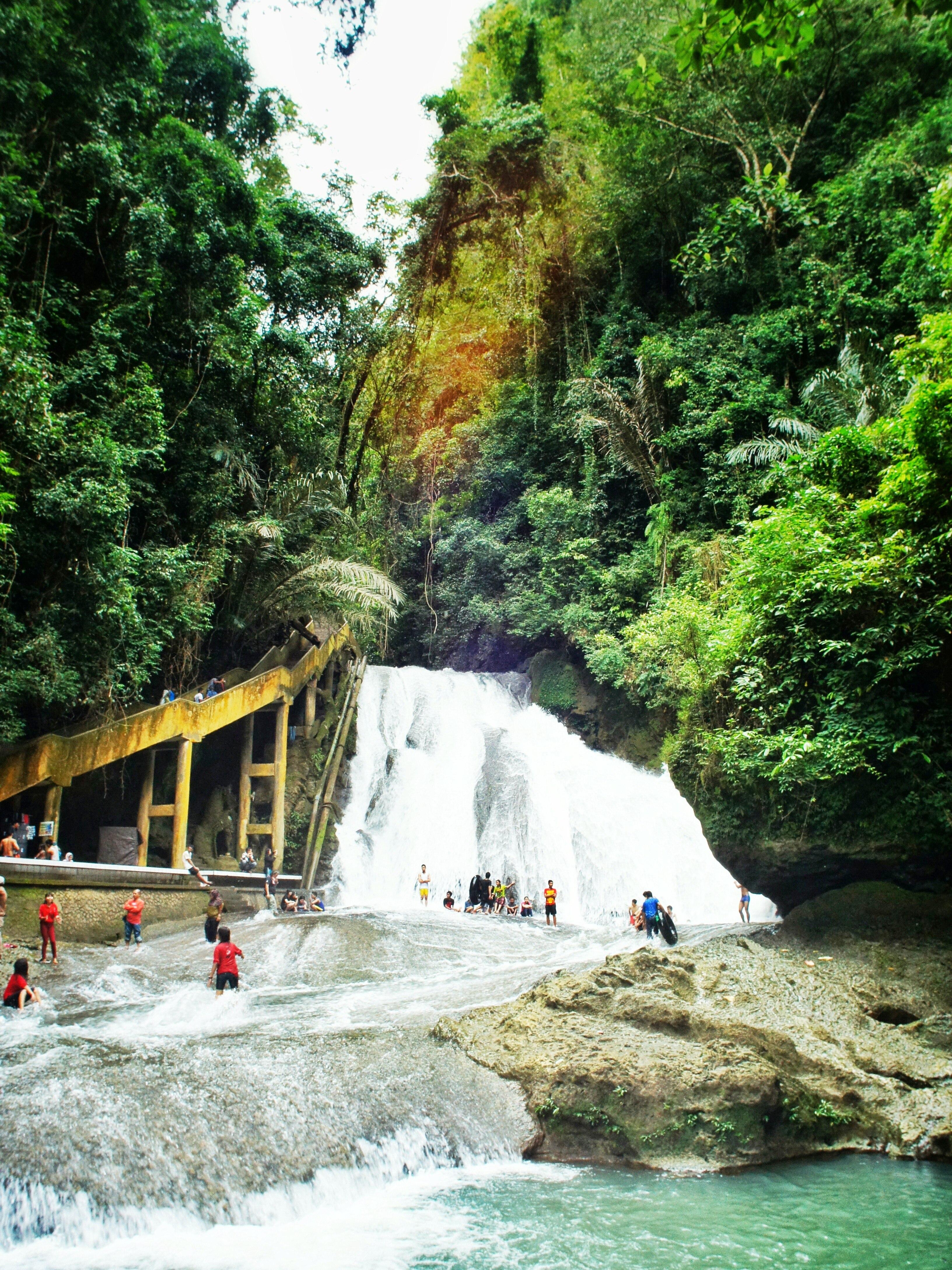 Bantimurung Waterfall. Makassar, South Sulawesi, Indonesia.