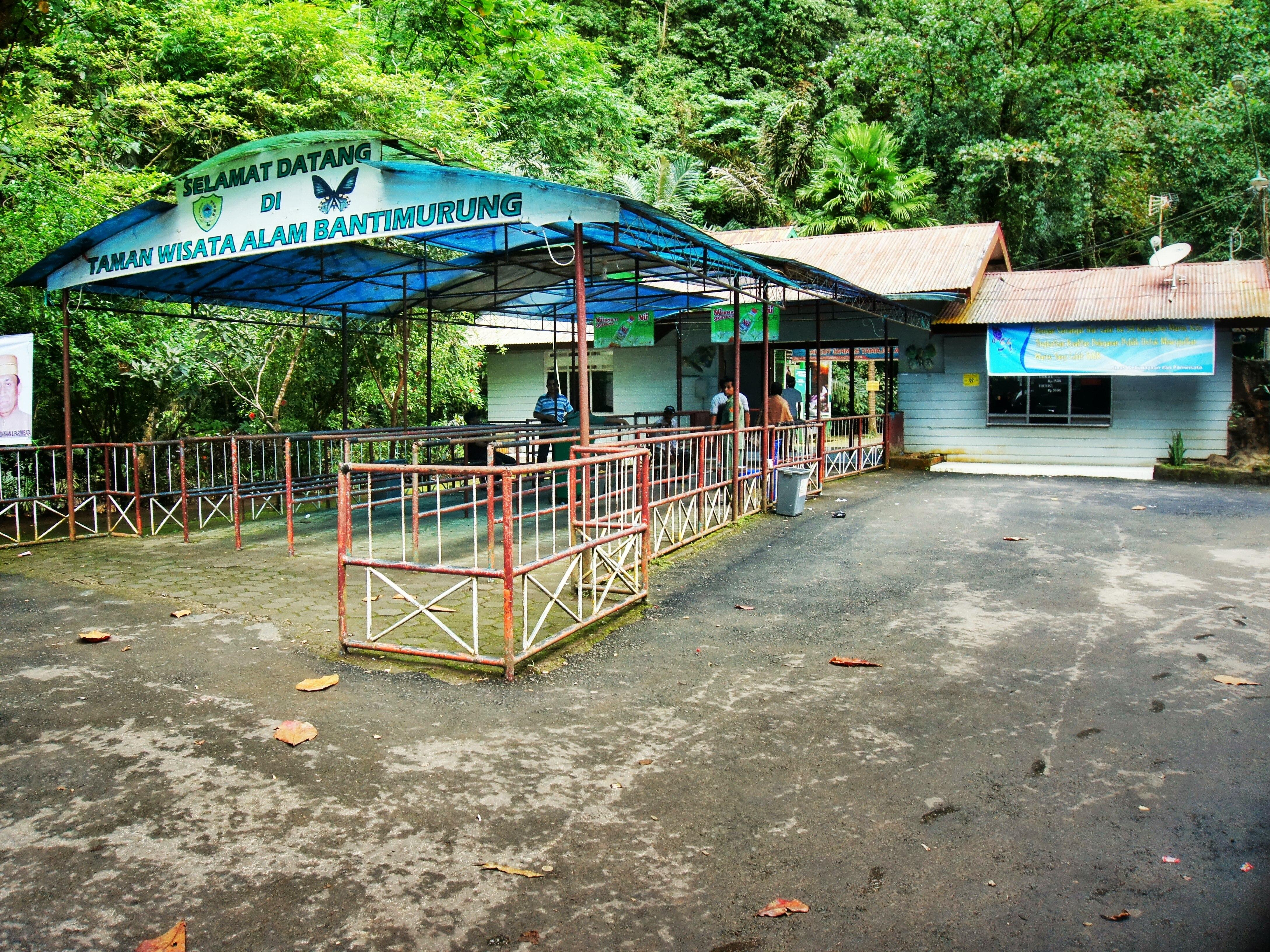 Entrance to Bantimurung.