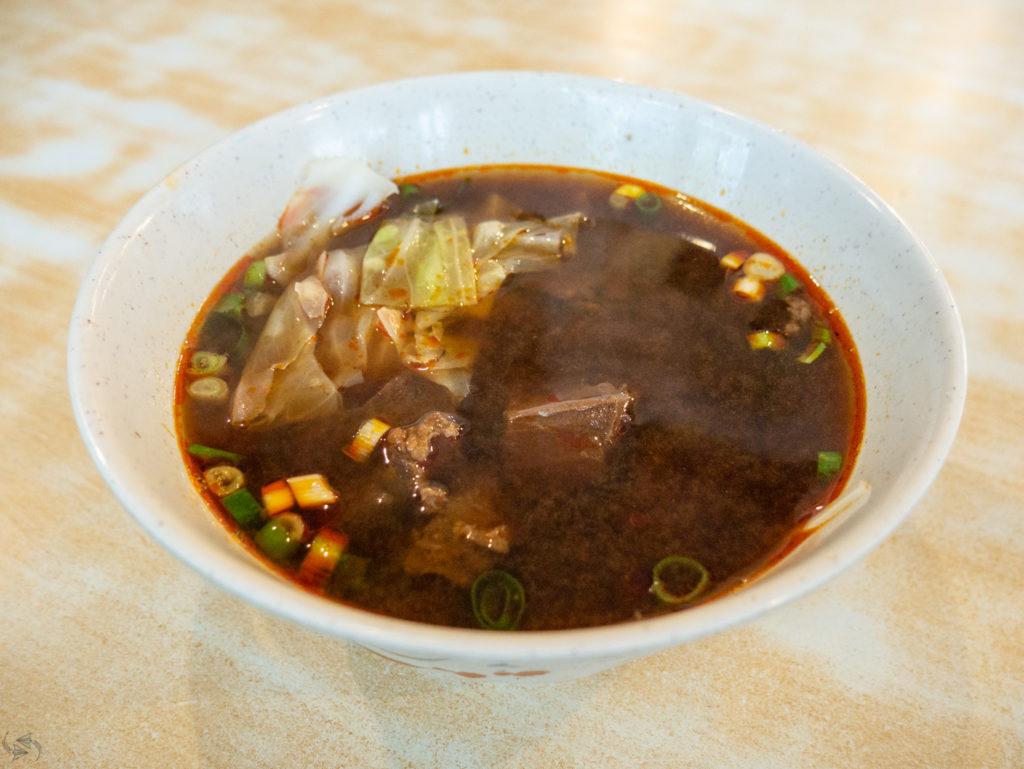 Beef Noodle Soup Yongkang Street Taipei