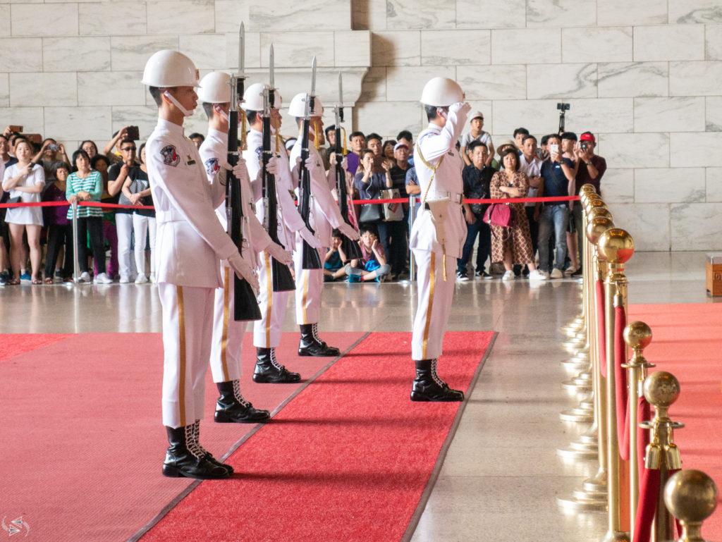 Changing of the Guards Chiang Kai-shek Memorial Hall Taipei