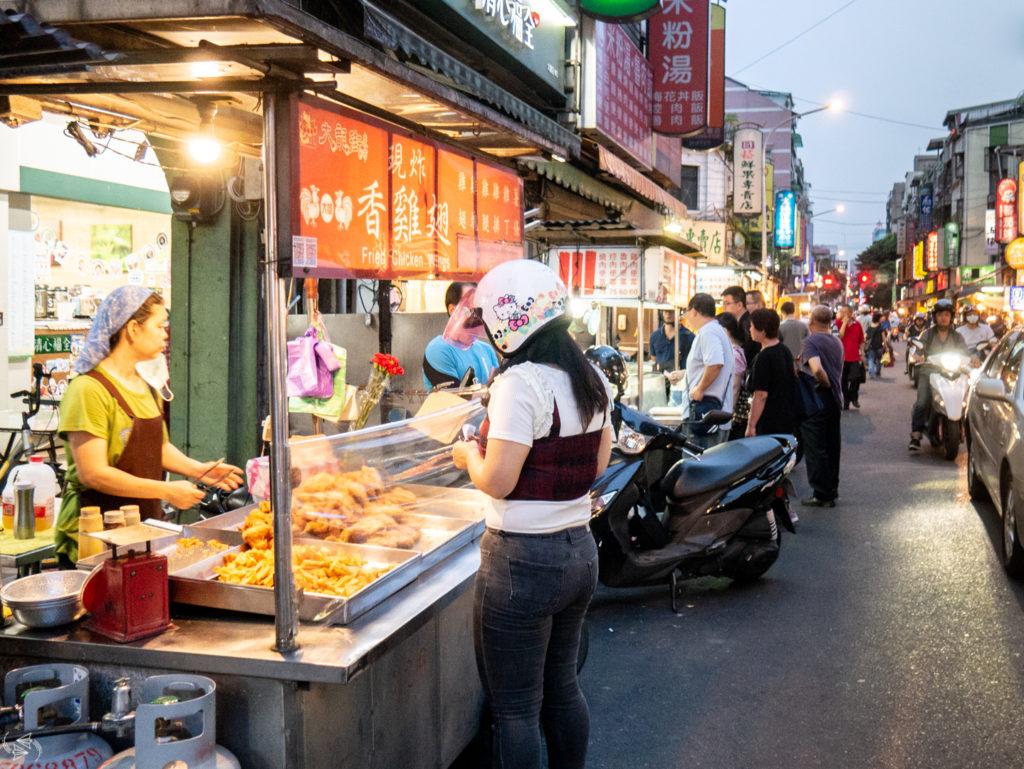 Dalong Street Night Market Taipei