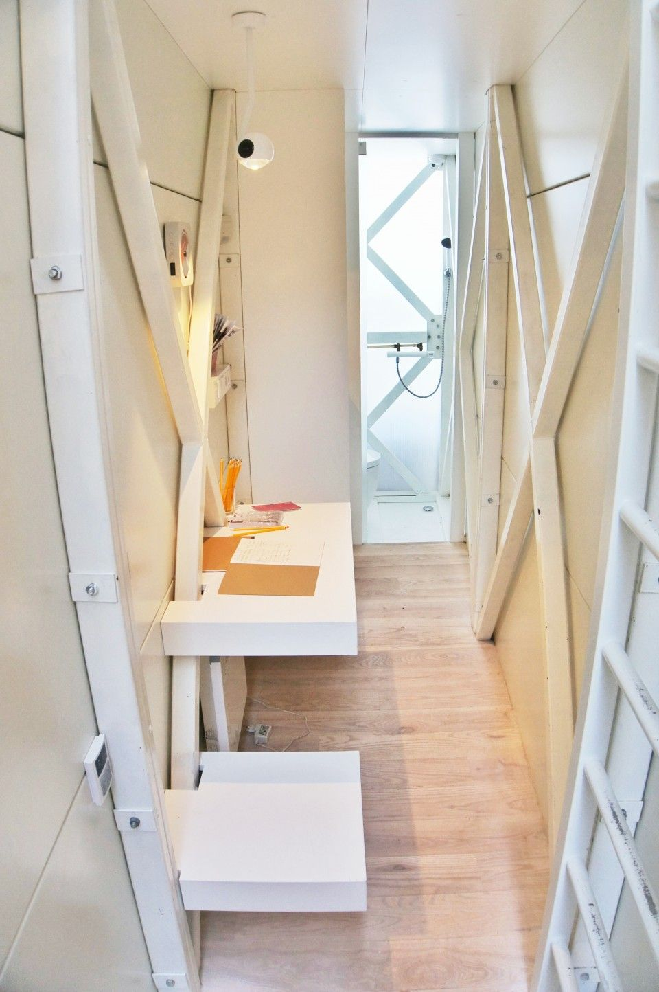 Dining Area, Keret House, Warsaw, Poland