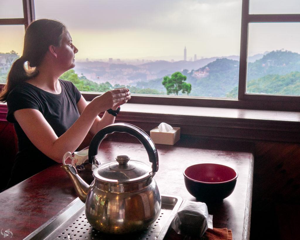 Mountain Tea House Maokong Taipei