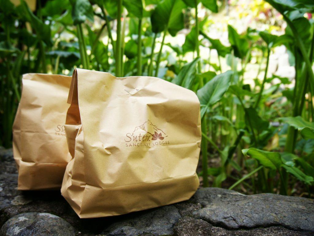 Packed lunch, Kinabalu mountain climb