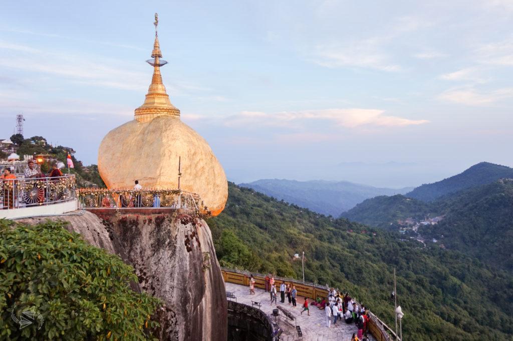 myanmar travel golden rock