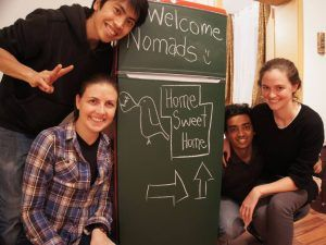 Nomad welcome