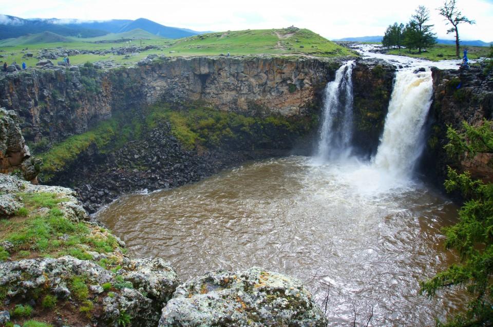 Big Waterfall, Orkhon Valley, Mongolia