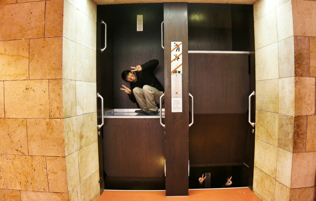 The Paternoster: Europe's Non-Stop Elevator