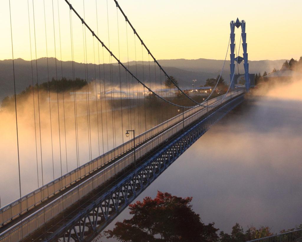 ryujin gorge ryujin suspension bridge ibaraki