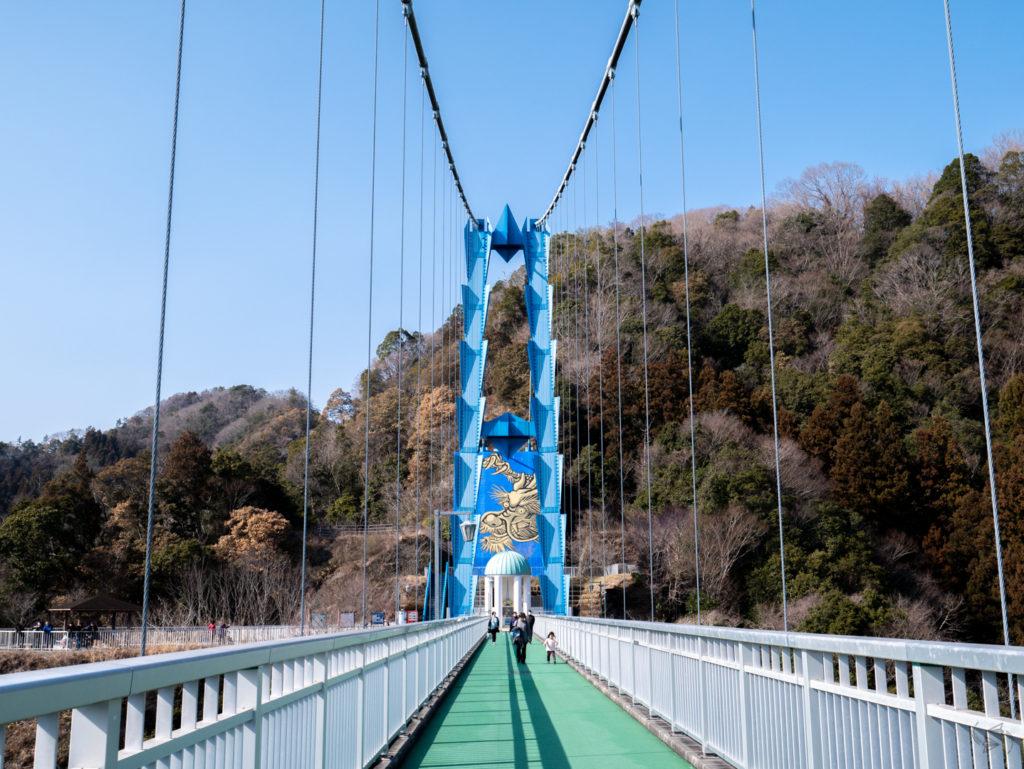ryujin suspension bridge ibaraki