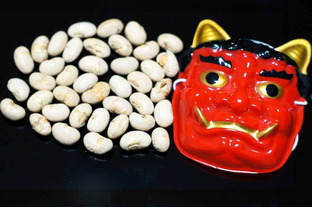 Setsubun beans, Japan
